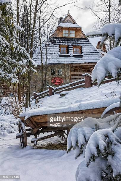 Zakopane - small tourist resort in Tatra Mountains
