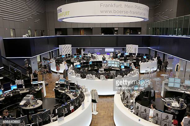 Zalando celebrate the launch of the company's Initial Public Offering of shares on the Frankfurt Stock Exchange on October 1 2014 in Frankfurt...
