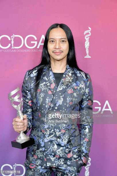 Zaldy Goco winner of the Excellence in Variety RealityCompetition Live Television award for 'RuPaul's Drag Race' attends The 21st CDGA at The Beverly...