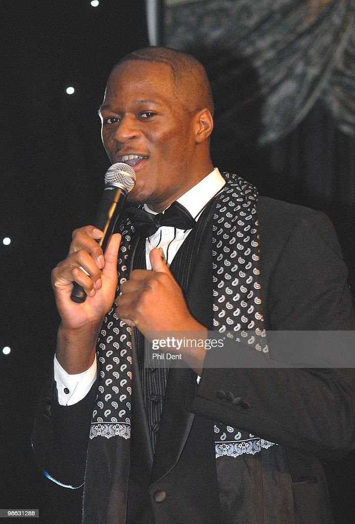 Zalon Thompson performs on stage at the Dorchester on March 13th 2010 in London.