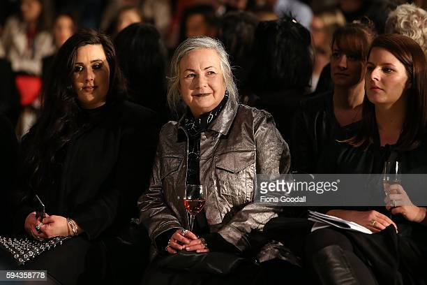 Zambesi designer Liz Findlay at the K Road Presents show during 2016 New Zealand Fashion Week on August 23 2016 in Auckland New Zealand