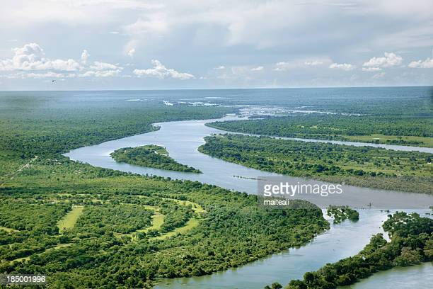 zambezi river - zambezi river stock pictures, royalty-free photos & images