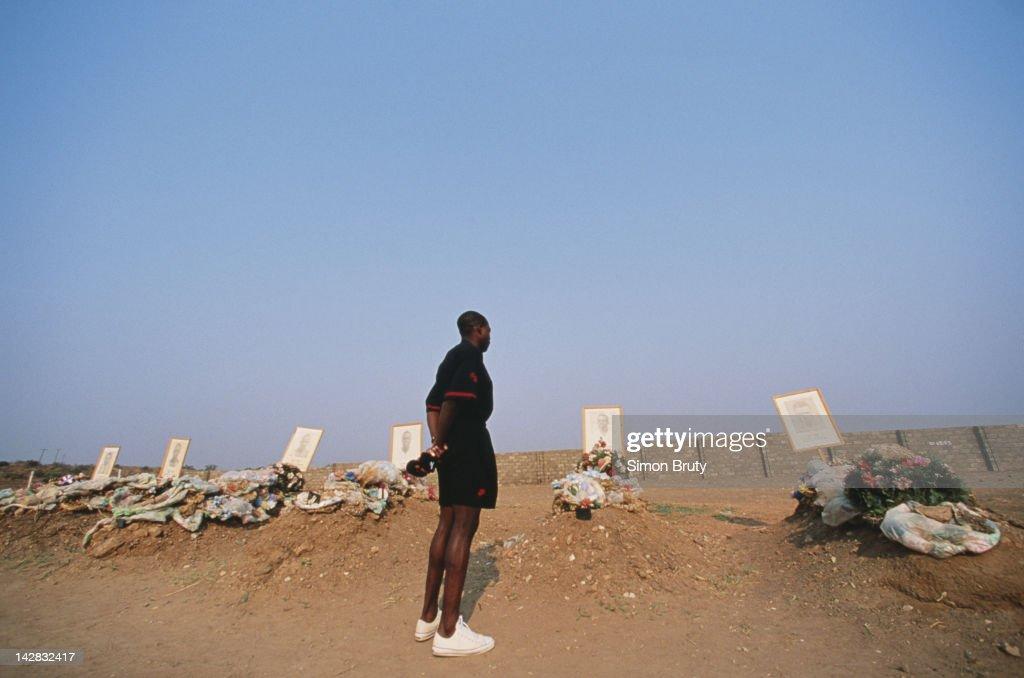 Football in Zambia : News Photo