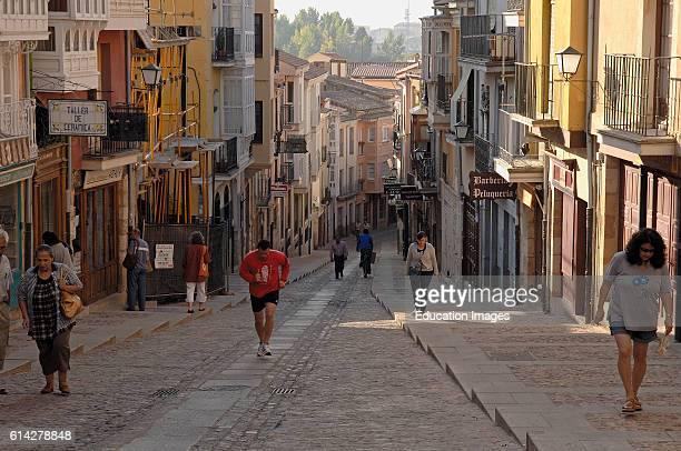 Zamora Calle Balborraz Old town CastillaLeon Spain