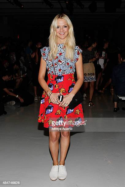 Zana Roberts Rossi attends Suno runway show during MercedesBenz Fashion Week Spring 2015 at Center 548 on September 5 2014 in New York City