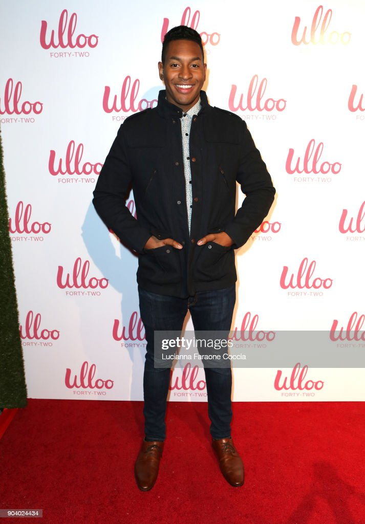 Zander Holefield attends Ulloo 42 Launch Party on January 11, 2018 in Los Angeles, California.