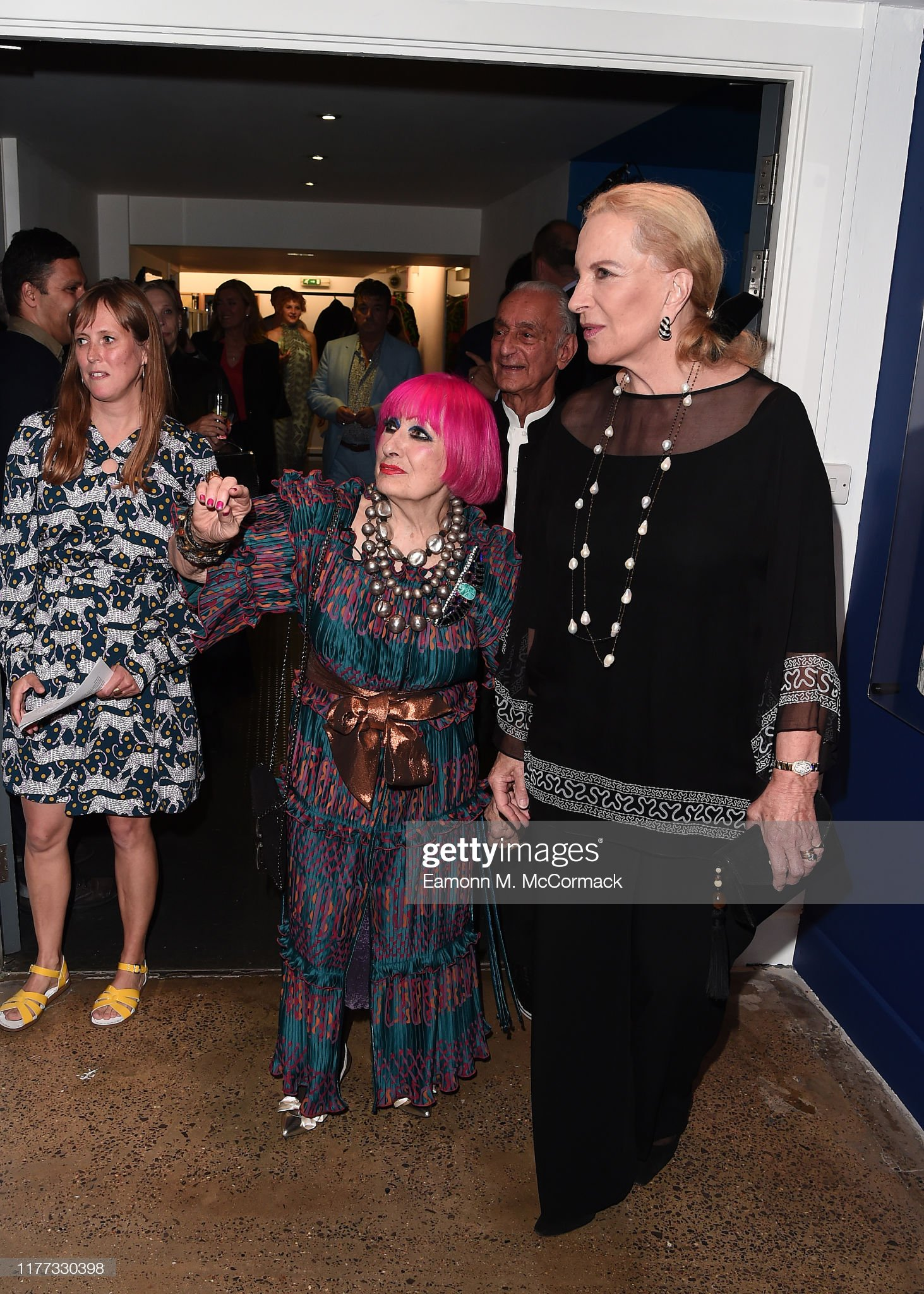 Zandra Rhodes: 50 Years Of Fabulous Opens At The Fashion And Textile Museum : News Photo