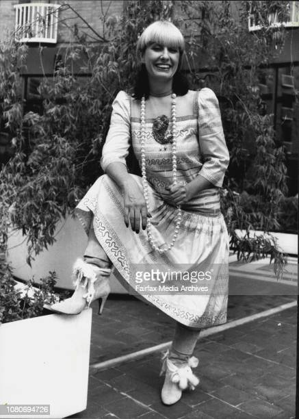 Zandra Rhodes Fashion Designer October 28 1983