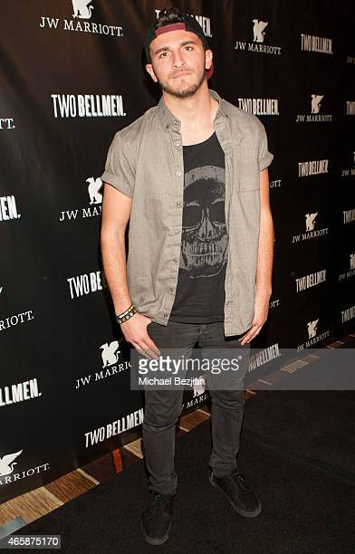 Zane Hijazi attends JW Marriott Hosts The Premiere Of Two Bellmen at JW Marriot at LA Live on March 10 2015 in Los Angeles California