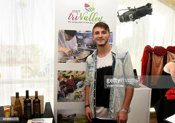 Zane Hijazi attends Kari Feinstein's Style Lounge presented by Painted by Kameco at the Andaz West Hollywood on February 19 2015 in Los Angeles...