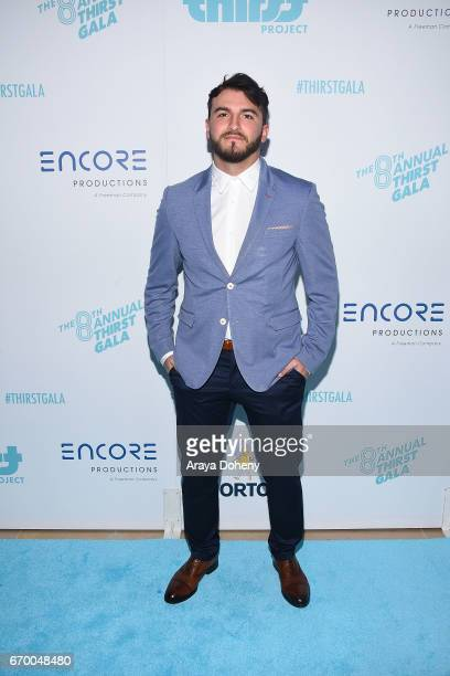 Zane Hijazi attends the Thirst Project's 8th Annual Thirst gala at The Beverly Hilton Hotel on April 18 2017 in Beverly Hills California
