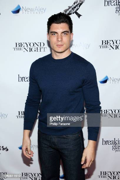 Zane Holtz attends Breaking Glass Pictures' Beyond The Night premiere at Ahrya Fine Arts Theater on January 10 2019 in Beverly Hills California