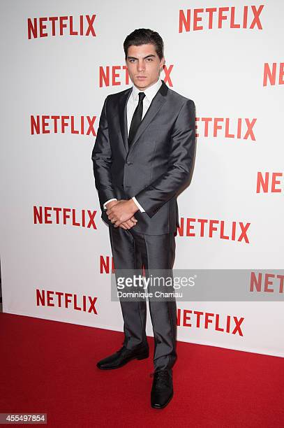 Zane Holtz attends the 'Netflix' Launch Party At Le Faust In Paris on September 15 2014 in Paris France