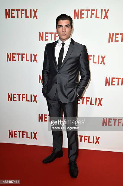Zane Holtz attends the 'Netflix' Launch Party at Le Faust on September 15 2014 in Paris France