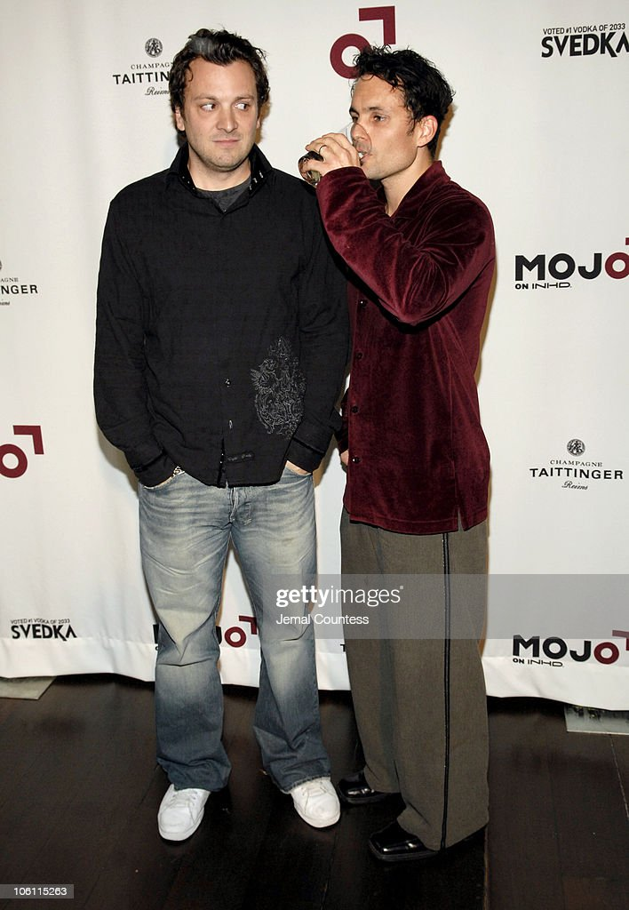 Zane Lamprey and Emilio Nunez during MOJO on INHD Launch