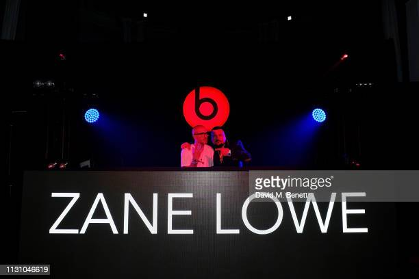 Zane Lowe and Charlie Sloth attend Beats by Dr Dre Brits After Party on February 20 2019 in London England