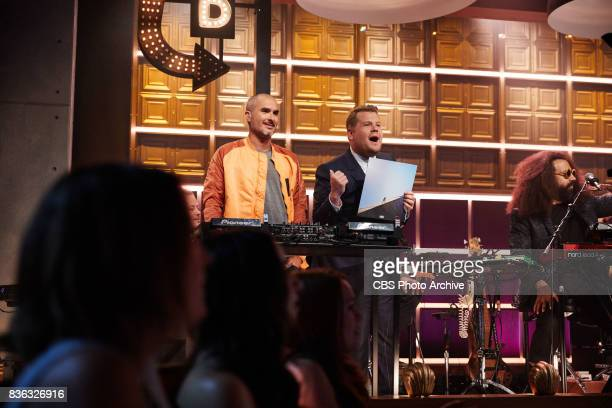 Zane Lowe and James Corden introduce Daniel Caesar during 'The Late Late Show with James Corden' Wednesday August 16 2017 On the CBS Television...