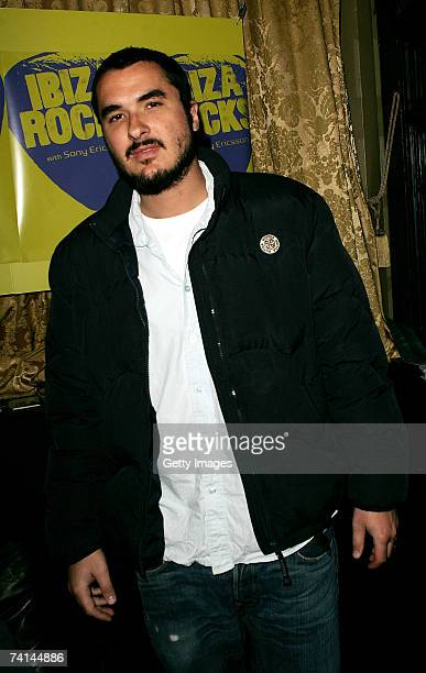 Zane Lowe arrives at the Ibiza Rocks with Sony Ericsson launch party at The Lock Tavern Camden on May 14 2007 in London England The music event is...