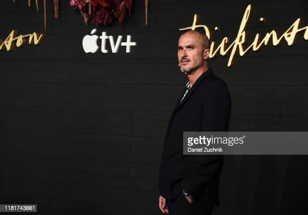 Zane Lowe attends Apple's Global Premiere of Dickinson at ST Ann's Warehouse on October 17 2019 in Brooklyn New York
