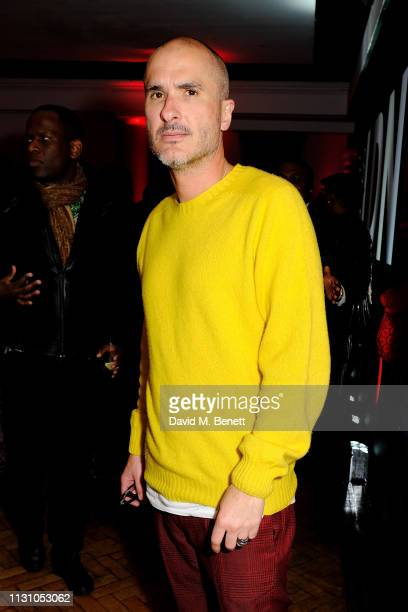 Zane Lowe attends Beats by Dr Dre Brits After Party on February 20 2019 in London England