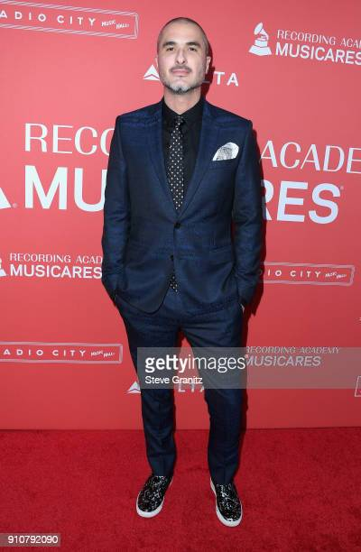 Zane Lowe attends MusiCares Person of the Year honoring Fleetwood Mac at Radio City Music Hall on January 26 2018 in New York City