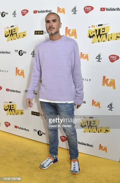 Zane Lowe attends the 2018 KA GRM Daily Rated Awards at Eventim Apollo on September 4 2018 in London England