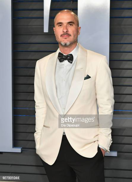 Zane Lowe attends the 2018 Vanity Fair Oscar Party hosted by Radhika Jones at Wallis Annenberg Center for the Performing Arts on March 4 2018 in...