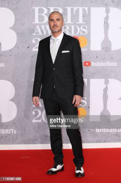 Zane Lowe attends The BRIT Awards 2019 held at The O2 Arena on February 20 2019 in London England