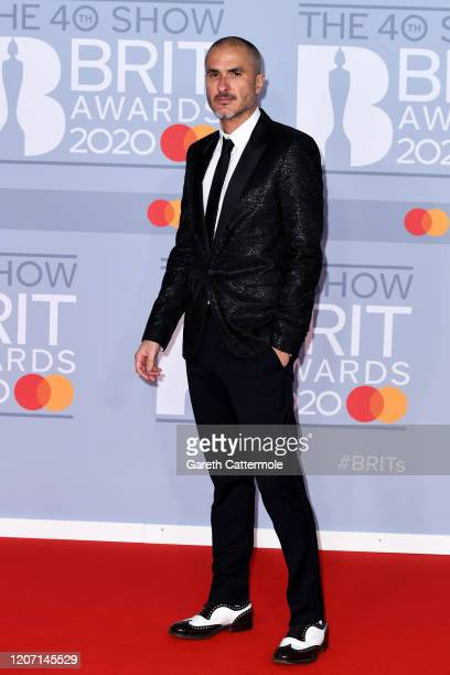 Zane Lowe attends The BRIT Awards 2020 at The O2 Arena on February 18 2020 in London England