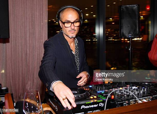 Zane Lowe DJs at Apple's Global Premiere for Dickinson on October 17 2019 in Brooklyn New York Dickinson debuts on Apple TV the first alloriginal...