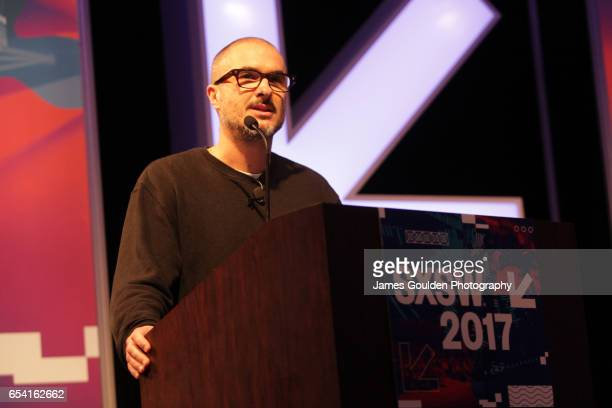 Zane Lowe of Apple Music speaks onstage at the Music Keynote during 2017 SXSW Conference and Festivals at Austin Convention Center on March 16 2017...