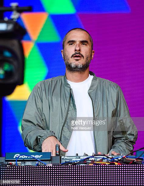 Zane Lowe performs at Doritos #MixArcade Day 3 at LA LIVE on June 16 2016 in Los Angeles California