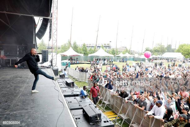 Zane Lowe performs live onstage during 2017 Governors Ball Music Festival Day 3 at Randall's Island on June 4 2017 in New York City