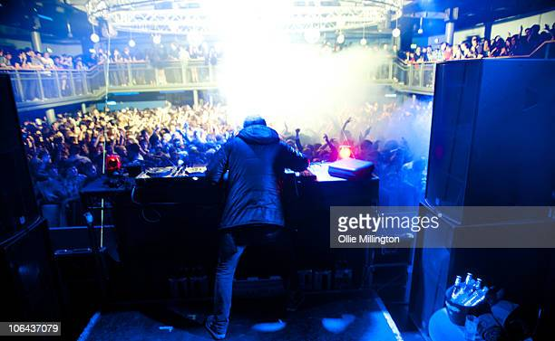 Zane Lowe performs onstage at The Big Shabang student night on a date of the DJ Hero 2 tour at o2 Academy on October 29, 2010 in Leicester, England.