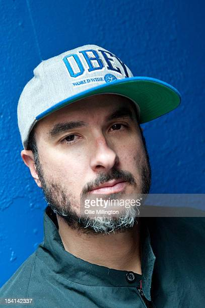 Zane Lowe poses backstage for a portrait after performing on a date of 'The Electrified Tour' on stage during the Fresher's Closing Party at O2...