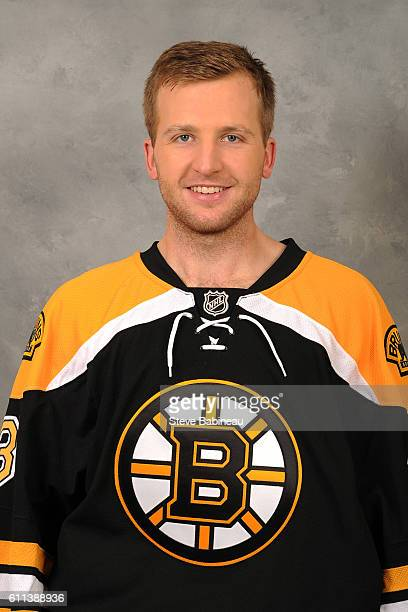 Zane McIntyre of the Boston Bruins poses for his official headshot for the 20162017 season on September 24 2016 in Watertown Massachusetts