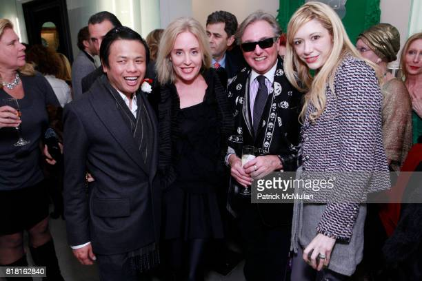 Zang Toi Amy Hoadley Geoffrey Bradfield and Melissa Berkelhammer attend GEOFFREY BRADFIELD'S 'THE QUICK AND THE DEAD' Opening at Sebastian Barquet...