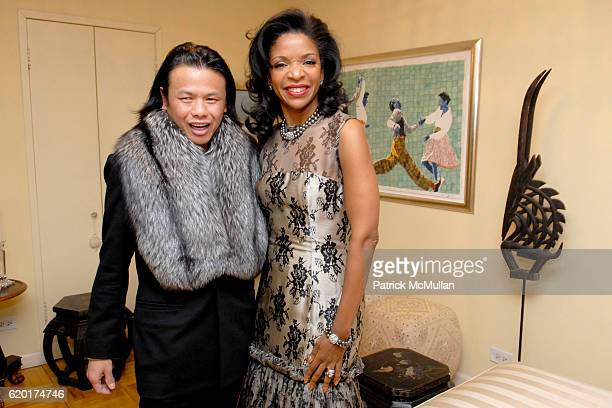 Zang Toi and Pamela Joyner attend ZANG TOI COLLECTION at 330 East 38th Street on November 23 2008 in New York City