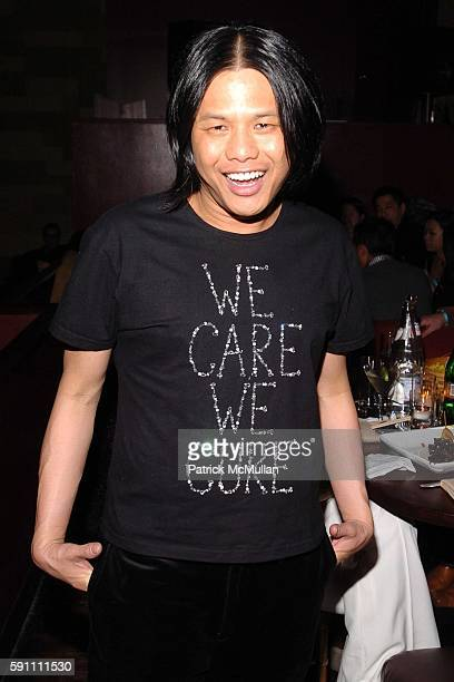 Zang Toi attends AfterParty for the Zang Toi Fall 2005 Fashion Show Supporting The Hemangioma Treatment Foundation at Lotus on February 5 2005 in New...