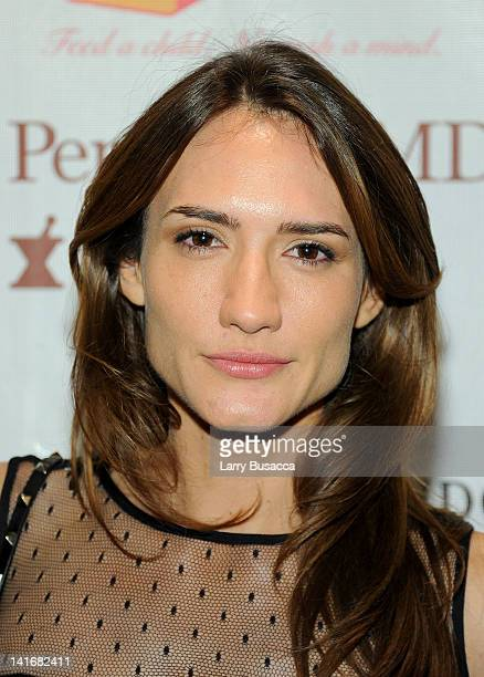 Zani Gugelman attends the 2012 Lunchbox Fund Bookfair auction at Del Posto on March 21 2012 in New York City