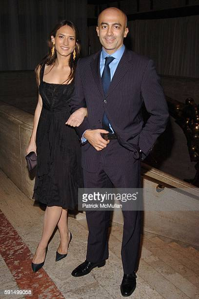 Zani Gugelmann and Alex Tahsili attend ROLEX Mentor and Protege Arts Initiative Gala at New York State Theater at Lincoln Center on December 5 2005...