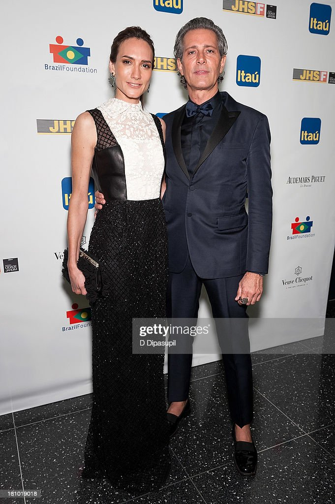 Zani Gugelmann (L) and Carlos Souza attend the 11th Brazil Foundation NYC gala at The Museum of Modern Art on September 18, 2013 in New York City.