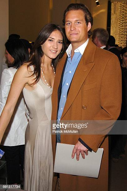 Zani Gugelmann and Jonathan Fackelmayer attend Calvin Klein hosts a party to celebrate Bryan Adams' new photo book American Women to benefit The...