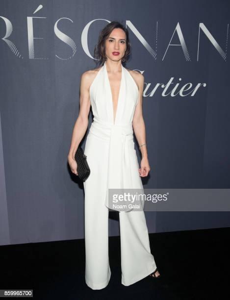 Zani Gugelmann attends Cartier's celebration of Resonances de Cartier on October 10 2017 in New York City