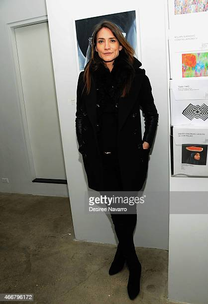 Zani Gugelmann attends Tali Lennox Exhibition Opening Reception at Catherine Ahnell Gallery on March 18 2015 in New York City