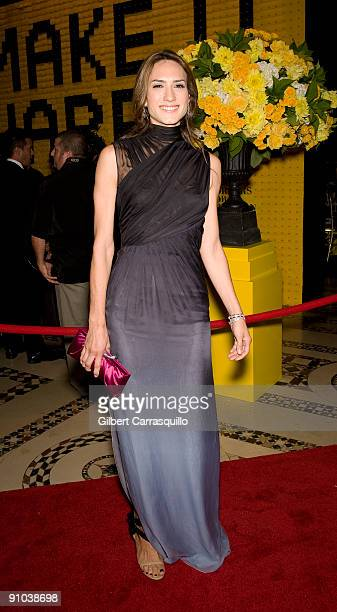 Zani Gugelmann attends the 10th annual New Yorkers for Children fall gala at Cipriani 42nd Street on September 22 2009 in New York City