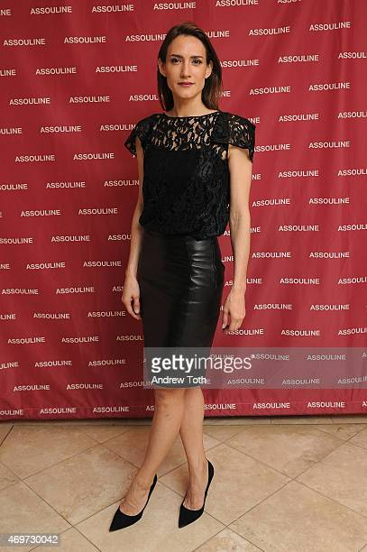 Zani Gugelmann attends the A Touch Of Style Book Signing with Carlos Mota at the DD Building Assouline Showroom on April 14 2015 in New York City