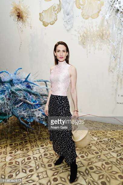 Zani Gugelmann attends The Cultivist x MatchesFashioncom Present The Bazaar on May 01 2019 in New York City