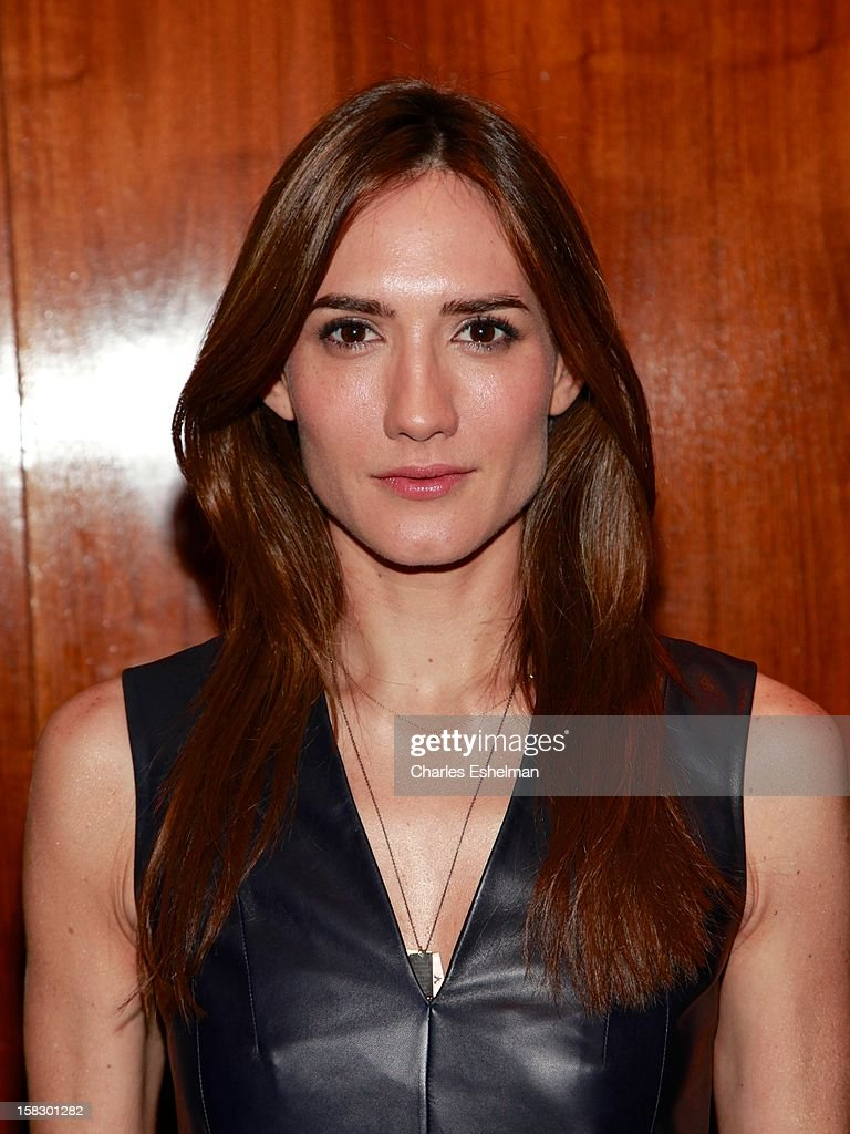 Zani Gugelmann attends 'The Impossible' screening at the Museum of Art and Design on December 12, 2012 in New York City.