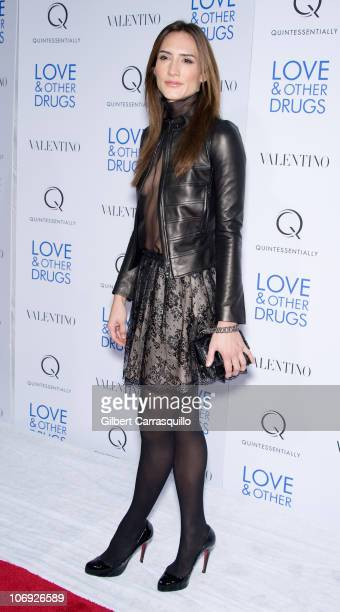Zani Gugelmann attends the Love and Other Drugs screening at the DGA Theater on November 16 2010 in New York City